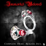 Limited Edition Immortal Beloved ring - diamond