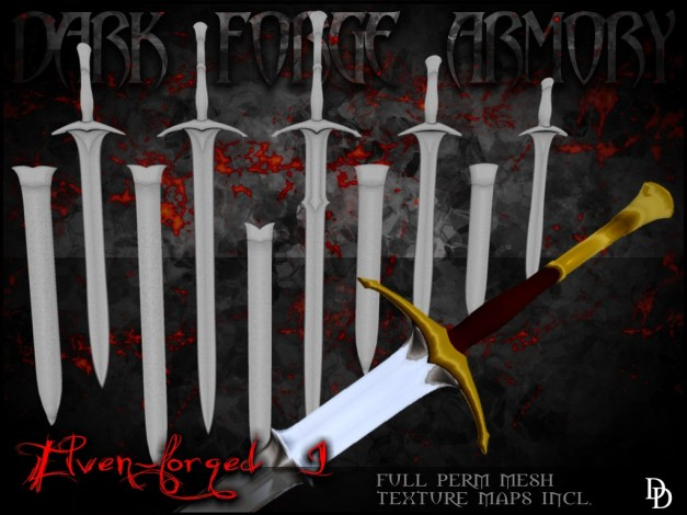 Dark Forge Armory - Elven-forged I